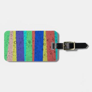Los arco iris y las gotas de agua, etiqueta etiquetas bolsa