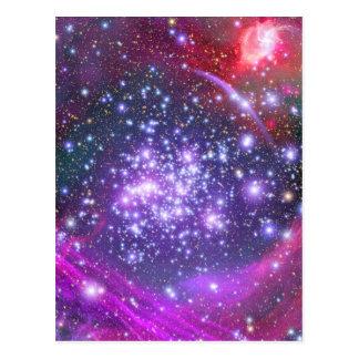 Los arcos agrupan el cúmulo de estrellas más denso postales