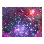 Los arcos agrupan el cúmulo de estrellas más denso postal