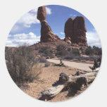 Los arcos parque nacional, los E.E.U.U. Etiquetas Redondas