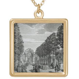 Los arcos triunfales, la estatua de Handel en el s Colgante Cuadrado