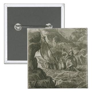 Los argonautas pasan el Symplegades (el grabado) Pins