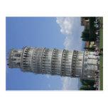los argumentos inclinan el twr Pisa Postal