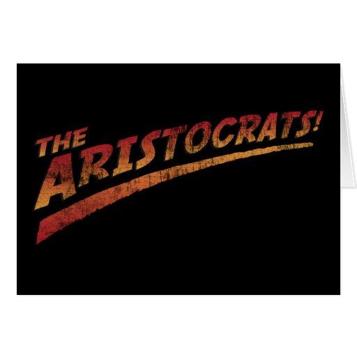 ¡Los aristócratas! Tarjetón