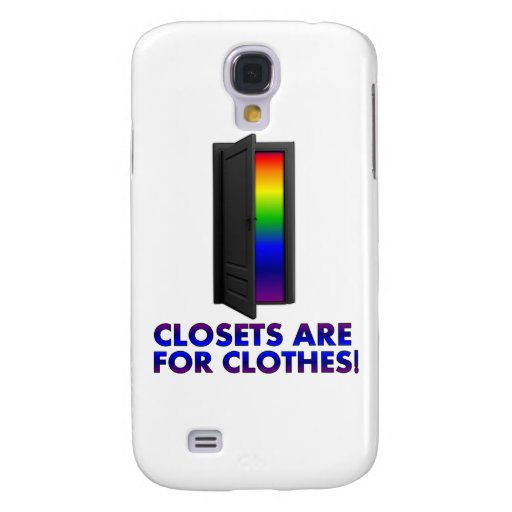 Los armarios están para la ropa funda para galaxy s4