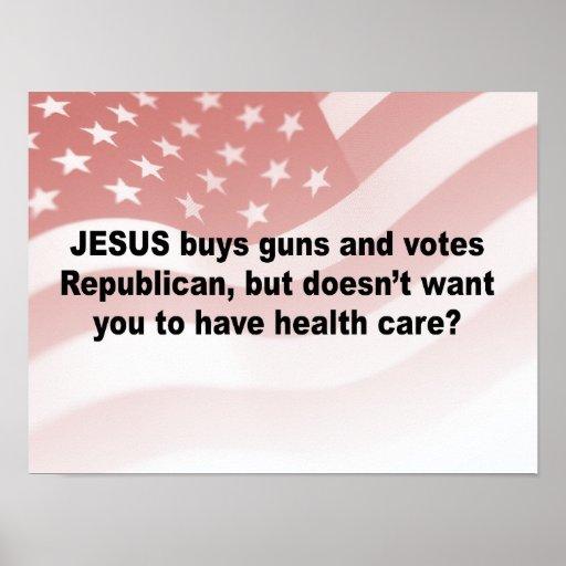 Los armas de las compras de Jesús pero no quisiera Impresiones