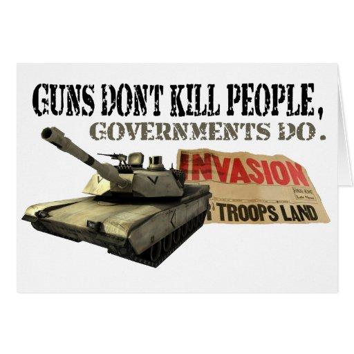 Los armas no matan a gente felicitación
