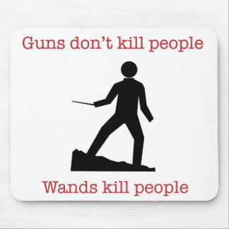 Los armas no matan a gente. Gente de la matanza de Alfombrillas De Ratones