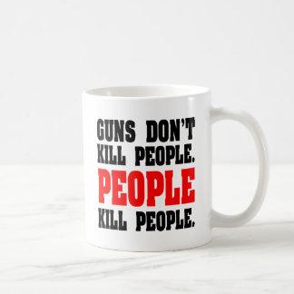 Los armas no matan a gente. Gente de la matanza de Taza De Café