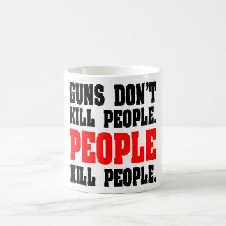 Los armas no matan a gente. Gente de la matanza de Tazas