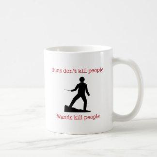 Los armas no matan a gente. Gente de la matanza de Taza Básica Blanca