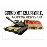 Los armas no matan a gente postal