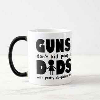 ¡Los armas no matan a gente que lo hacen los papás Tazas