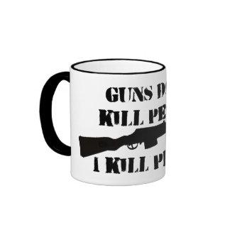 Los ARMAS NO MATAN a la taza