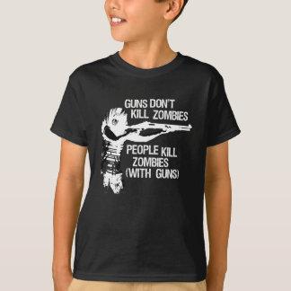 Los armas no matan a los zombis (suposición/la playera