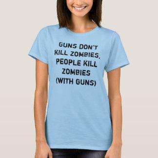 Los armas no matan a los zombis, zombis de la playera