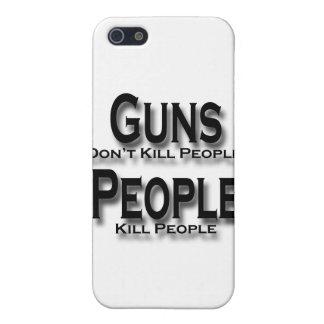 Los armas no matan a negro de la gente de la matan iPhone 5 carcasas