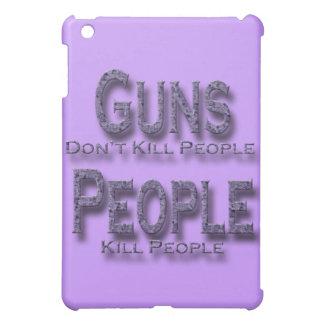 Los armas no matan a púrpura de la gente de la mat