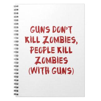 Los armas no matan a zombis notebook