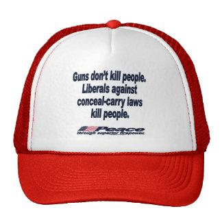 Los armas no matan al gorra de la gente