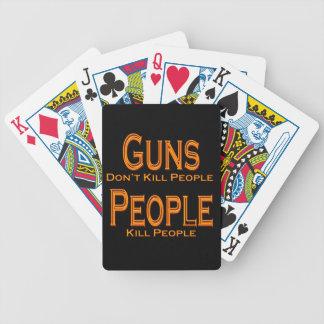 Los armas no matan al naranja de la gente de la barajas