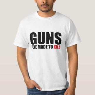Los armas se hacen para matar polera