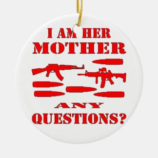 Los armas soy su madre cualquier pregunta adornos de navidad