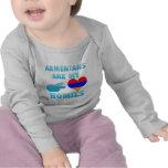 Los armenios son mi Homies Camisetas