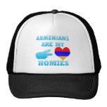 Los armenios son mi Homies Gorros Bordados