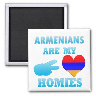 Los armenios son mi Homies Imán Cuadrado