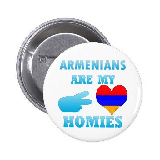 Los armenios son mi Homies Pin