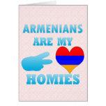 Los armenios son mi Homies Tarjeton