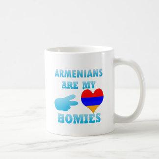 Los armenios son mi Homies Taza