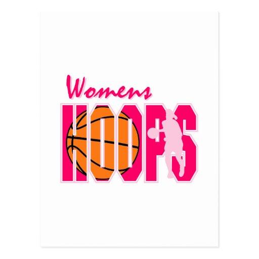 Los aros de las mujeres tarjeta postal