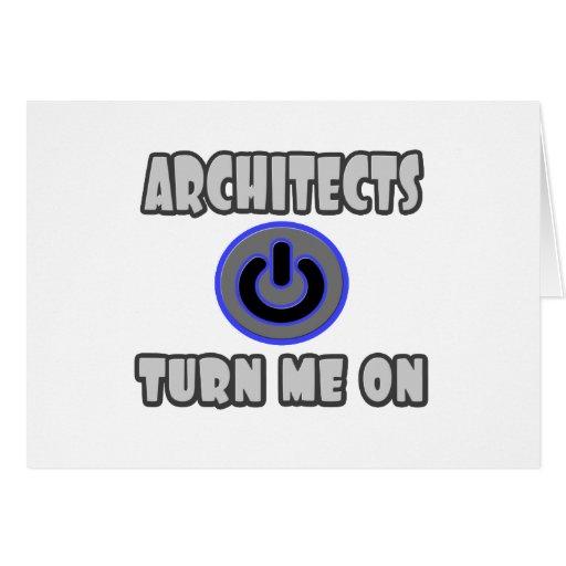 Los arquitectos me giran tarjetas