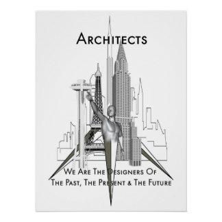 Los arquitectos perfeccionan el poster perfect poster