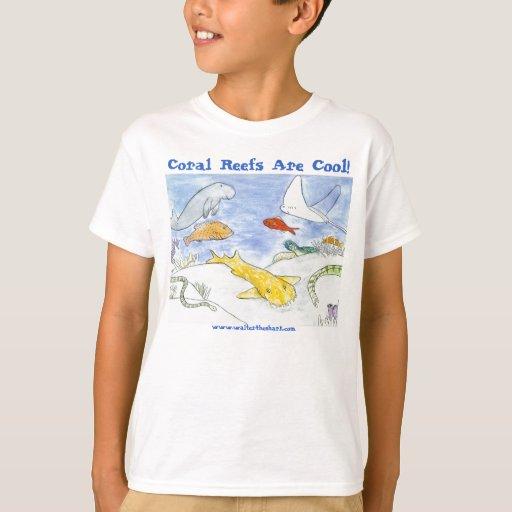 Los arrecifes de coral son la juventud fresca T Playera