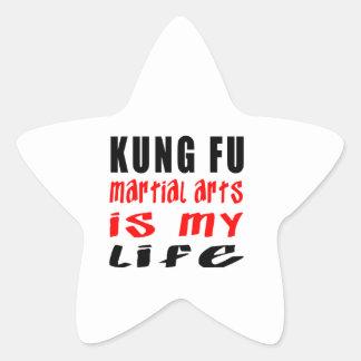 Los artes marciales de Kung Fu son mi vida
