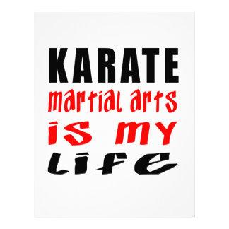 Los artes marciales del karate son mi vida