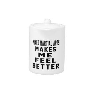 Los artes marciales mezclados hacen que siente mej