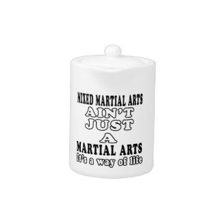 Los artes marciales mezclados no son apenas los ar