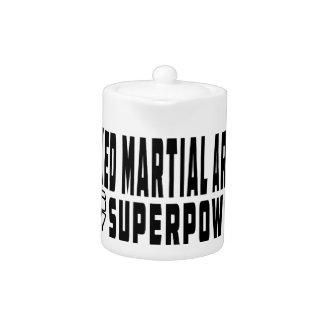Los artes marciales mezclados son mi superpotencia