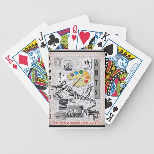Los artes y la creatividad cartas de juego