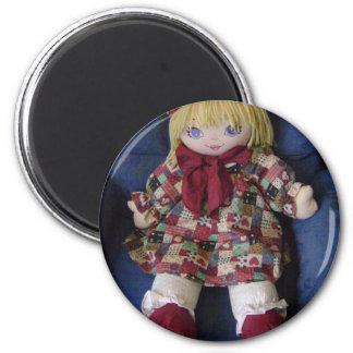 Los artículos de los niños múltiples de la muñeca  imán redondo 5 cm