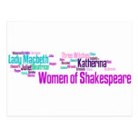 Los artículos inspiraron por las mujeres del stori tarjeta postal
