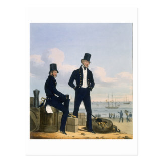 Los artilleros, Boatswains y carpinteros, platean  Tarjeta Postal