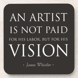 Los artistas no son pagados para el trabajo, sino posavasos de bebidas