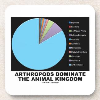 Los artrópodos dominan el reino animal posavasos de bebidas