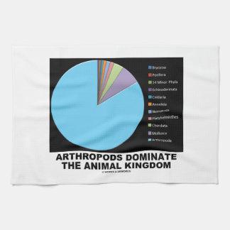 Los artrópodos dominan el reino animal toallas de mano