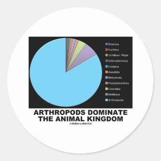 Los artrópodos dominan el reino animal pegatinas